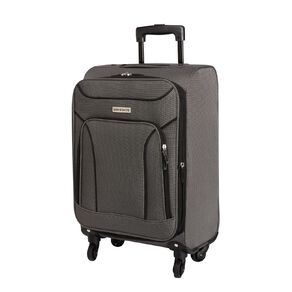 Living & Co Two Tone 4 Wheel Soft Suitcase