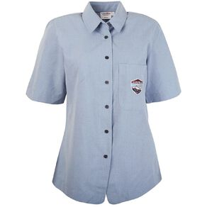 Schooltex Darfield High Girls' Short Sleeve Shirt with Embroidery