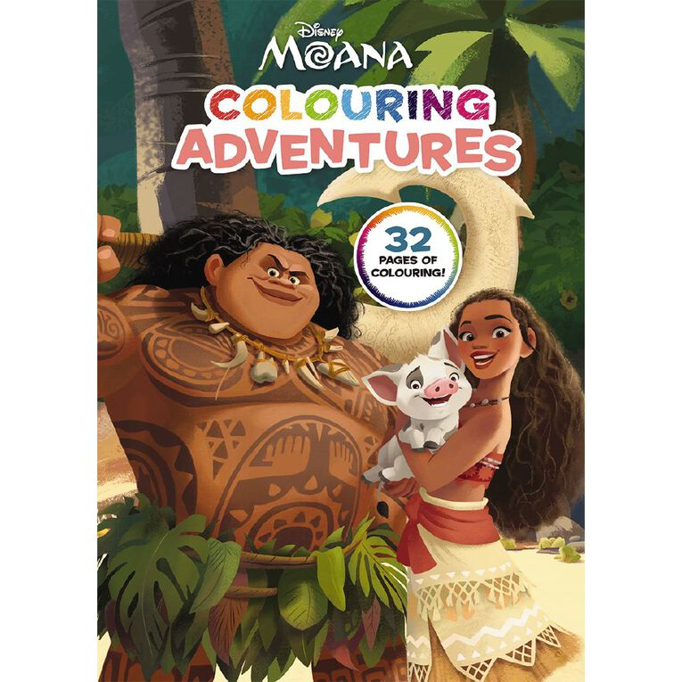 Moana Colouring Adventures, , hi-res