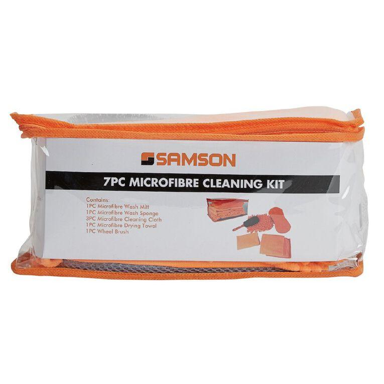 Mako Microfibre Cleaning Kit 7 Pack, , hi-res