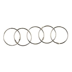 WS Book Rings No 3 50mm 5 Pack