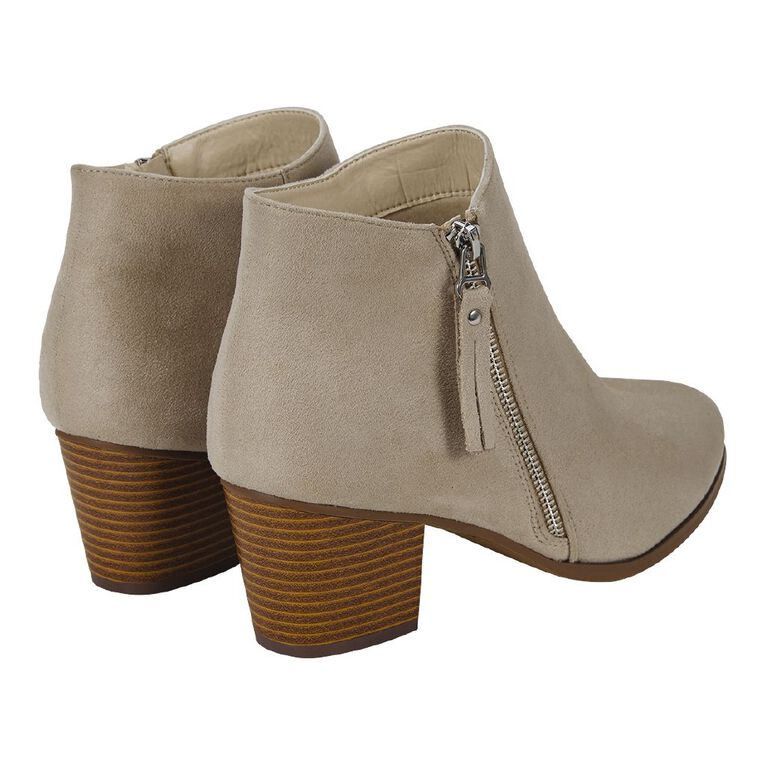 H&H Kitty Tassel Boots, Natural, hi-res image number null