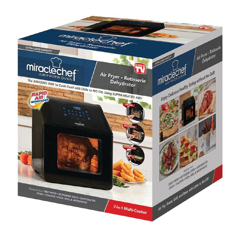 As Seen On TV Miracle Chef Air Fryer Deluxe 7 in 1, , hi-res