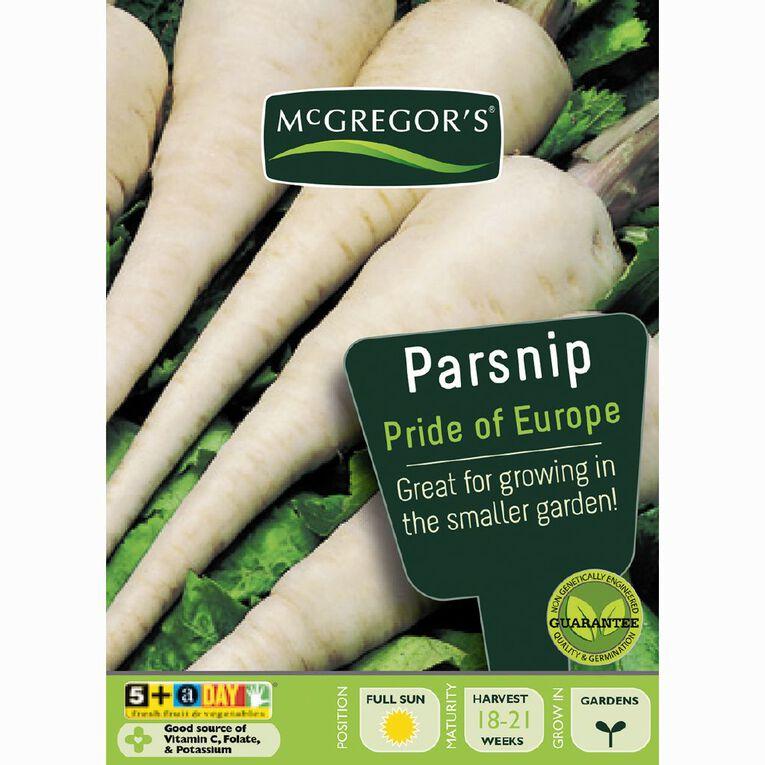 McGregor's Parsnip Pride of Europe Vegetable Seeds, , hi-res