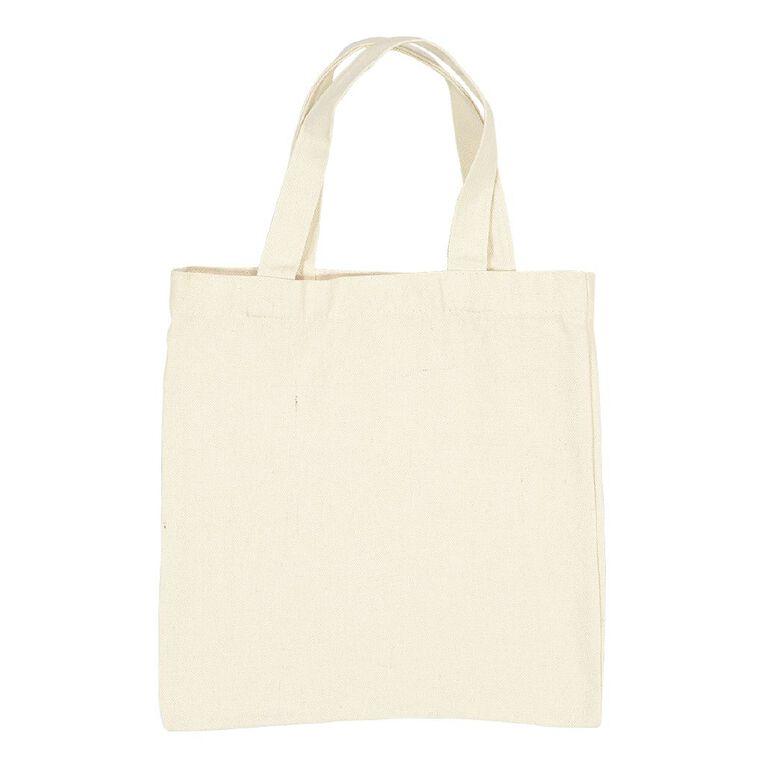 Uniti DIY Canvas Shopping Bag Natural 27 x 30, , hi-res