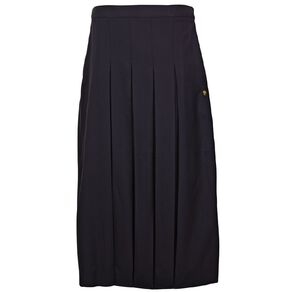 Schooltex Marcellin College New Long Pleated Skirt with Embroidery