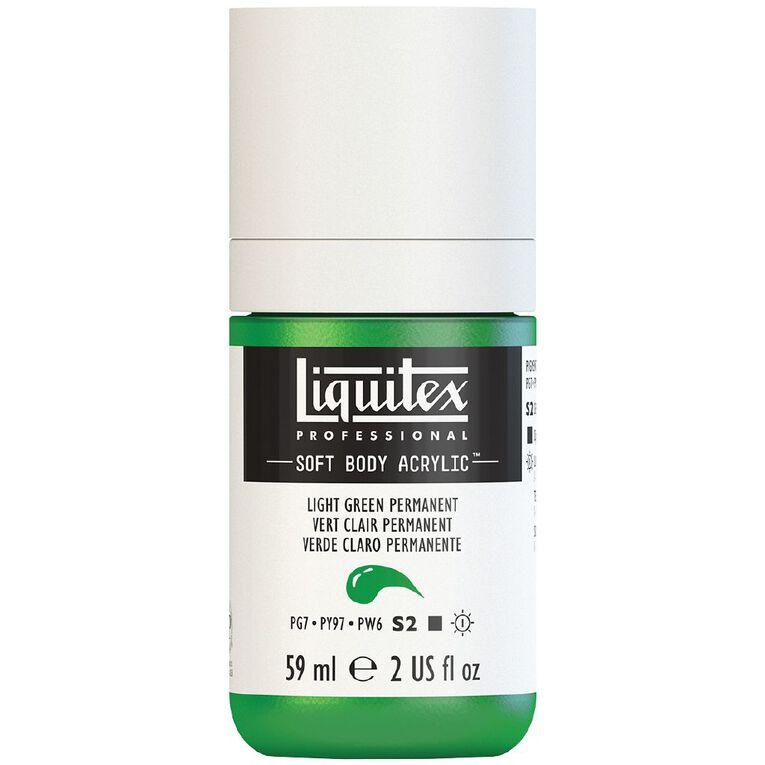 Liquitex Soft Body Acrylic 59ml Light Green S2, , hi-res