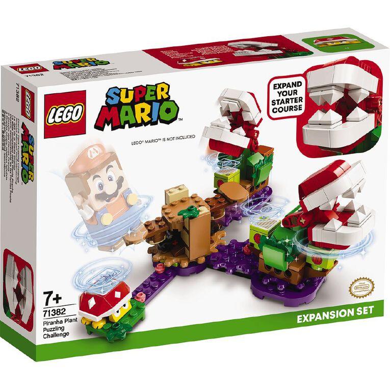 LEGO Super Mario Piranha Plant Puzzling Challenge Expansion Set 71382, , hi-res