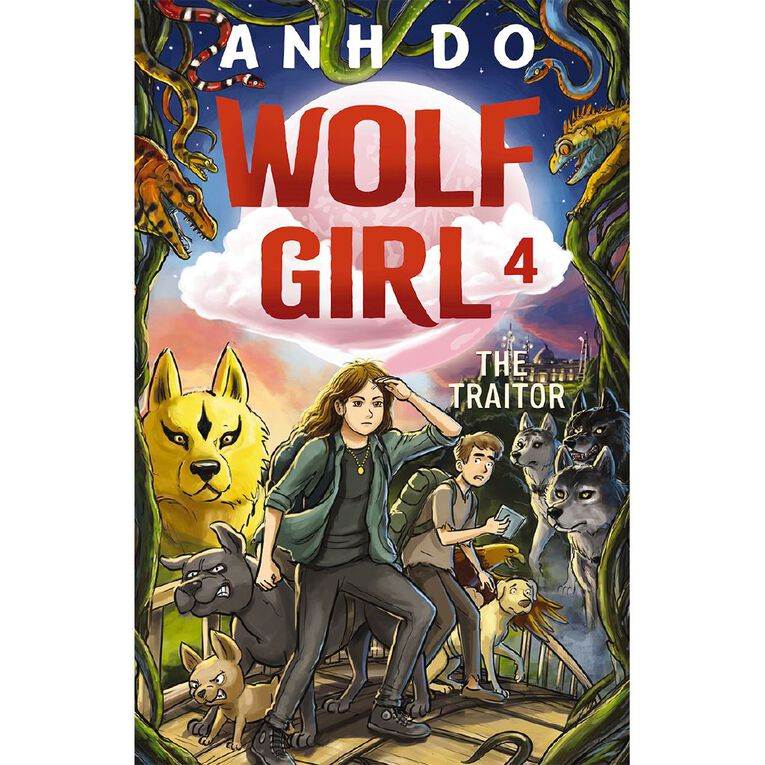 Wolf Girl #4 Traitor by Anh Do, , hi-res