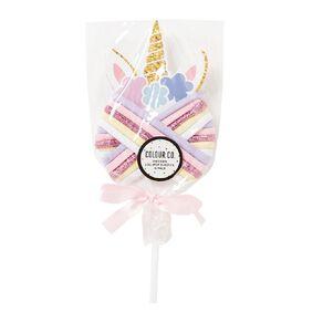 Colour Co. Unicorn Lollipop Hair Elastics 15 Pack
