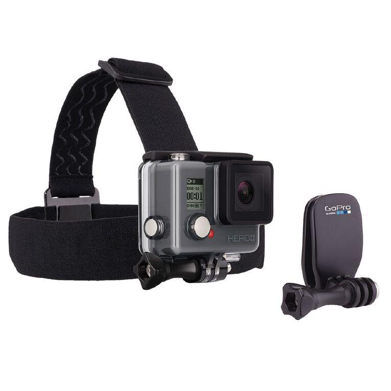 GoPro Head Strap + QuickClip, , hi-res