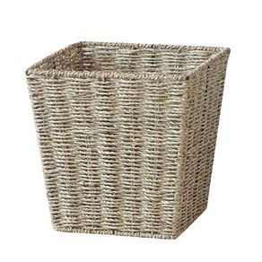 Living & Co Madrid Seagrass Square Basket Natural