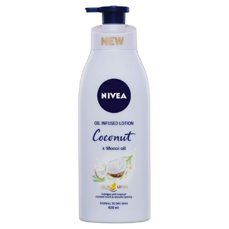Nivea Coconut and Monoi Oil Body Lotion 400ml, , hi-res
