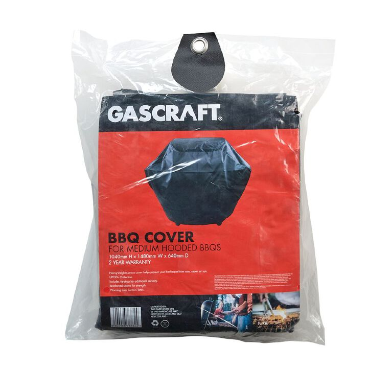 Gascraft BBQ Cover Hooded Medium, , hi-res