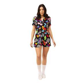 Stranger Things Netflix Eleven Mall Dress Costume Size Standard