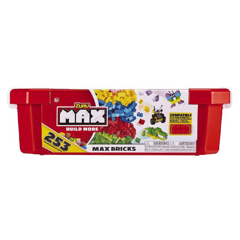 Zuru Max Build More Construction Value Brick Pack 253 Pieces, , hi-res