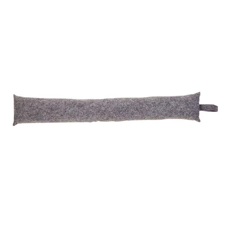 Living & Co Felt Draught Stop 85cm x 15cm Grey, , hi-res