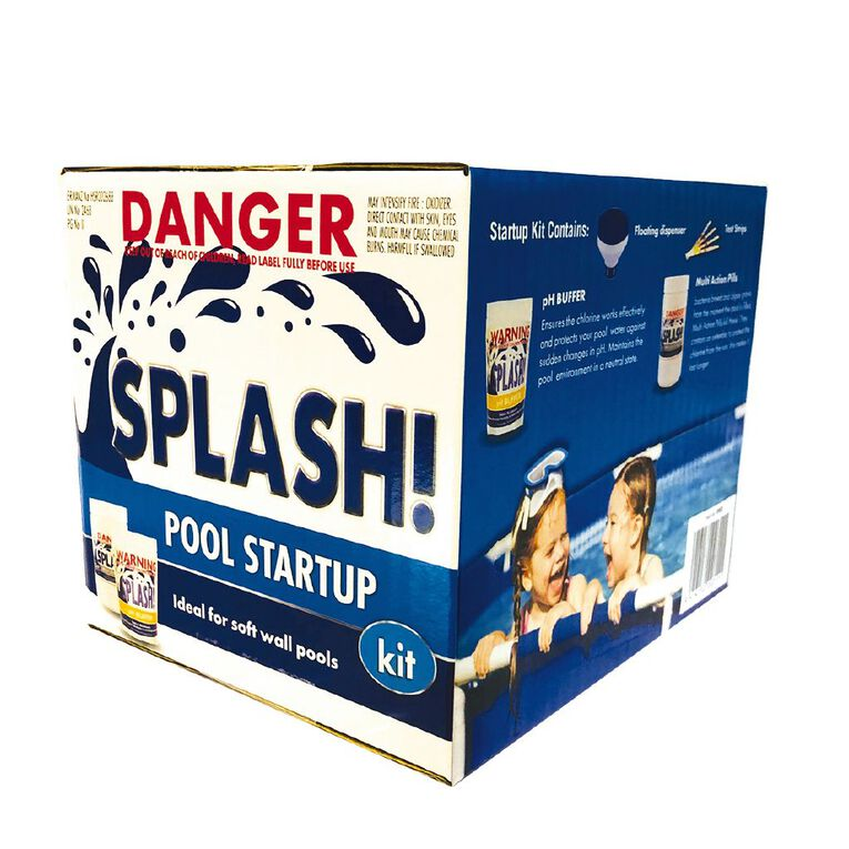 Splash Small Pool Chemical Starter Kit, , hi-res