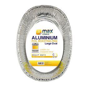 Max Choice Oval Roast Pan