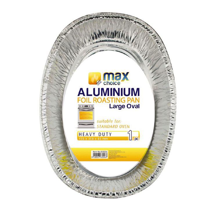 Max Choice Oval Roast Pan, , hi-res