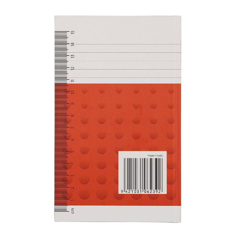 WS Notebook 6B1 Index 7mm Ruled 64 Leaf, , hi-res