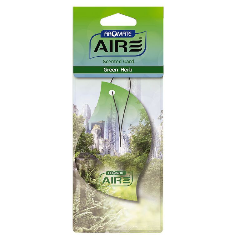 Aromate Scented Card GREEN HERB, , hi-res