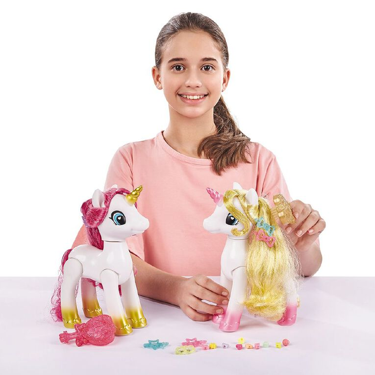 Zuru Sparkle Girlz Sparkle Unicorn Styling Head, , hi-res