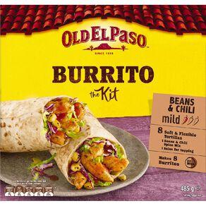Old El Paso Tortilla Kit Burrito 485g