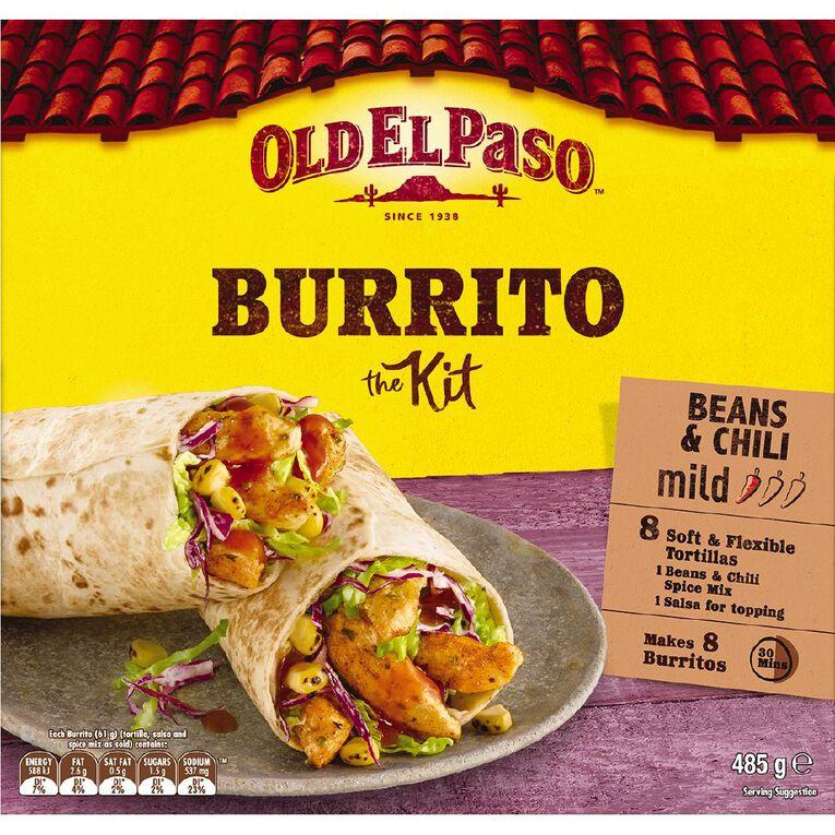 Old El Paso Tortilla Kit Burrito 485g, , hi-res