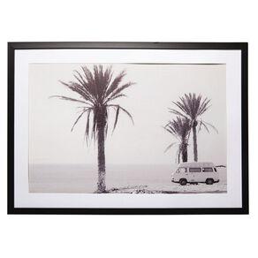 Living & Co Kombi Van Framed Print 50 x 70 x 2.3cm