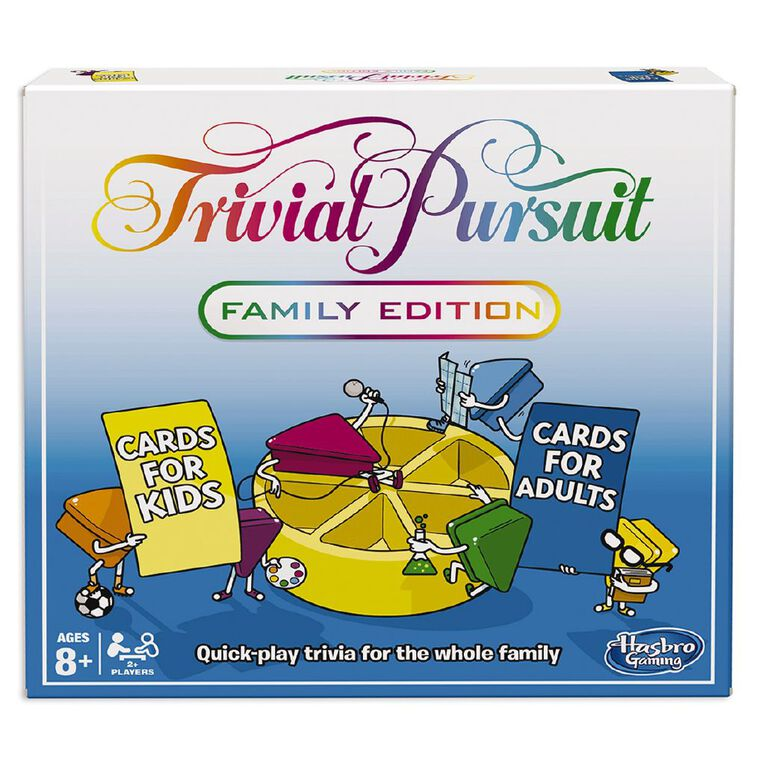 Trivial Pursuit Family Edition Game, , hi-res