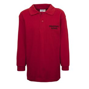 Schooltex Bishopdale Long Sleeve Polo with Embroidery