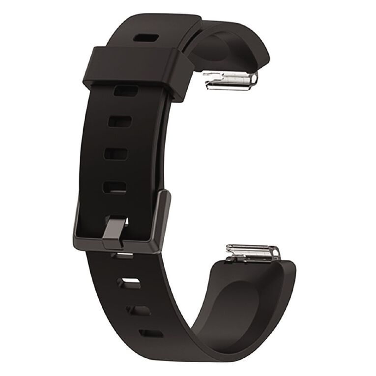 Swifty Black Replacement Strap For Fitbit Inspire Size Small, , hi-res