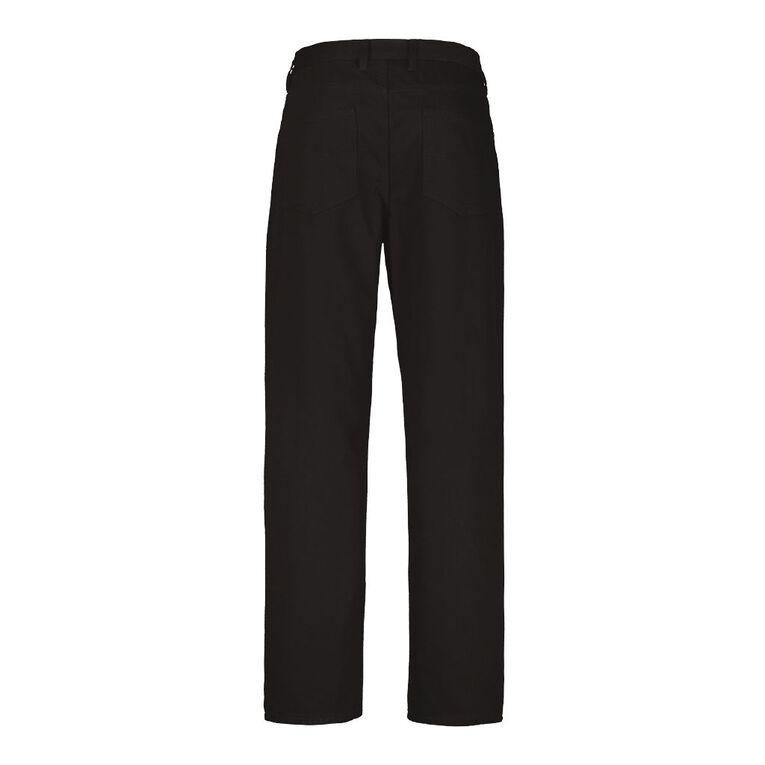 Rivet Men's Classic Jeans, Black, hi-res