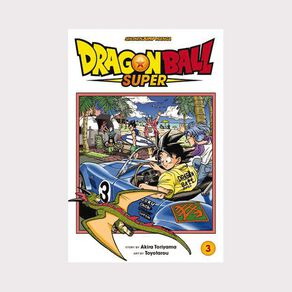 Dragon Ball Super Vol #3 by Akira Toriyama