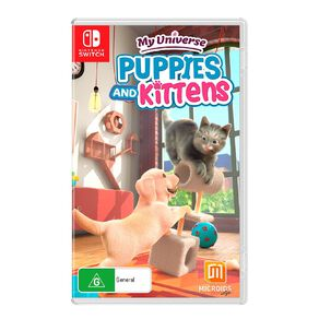 Nintendo Switch My Universe Puppies and Kittens