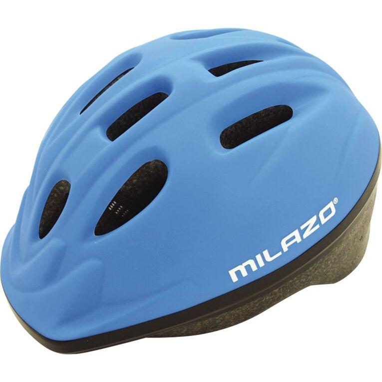 Milazo Junior Helmet Blue Size 52-56cm, , hi-res