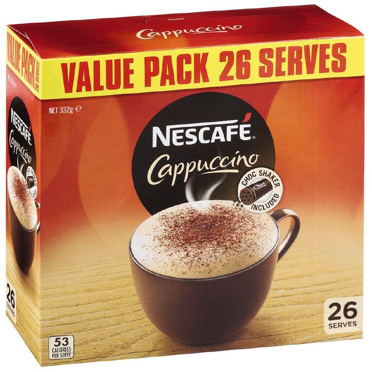 Nescafe Cafe Menu Cappuccino 26 Pack, , hi-res