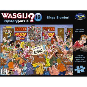WASGIJ Mystery 19 1000 Piece Bingo Blunder Puzzle