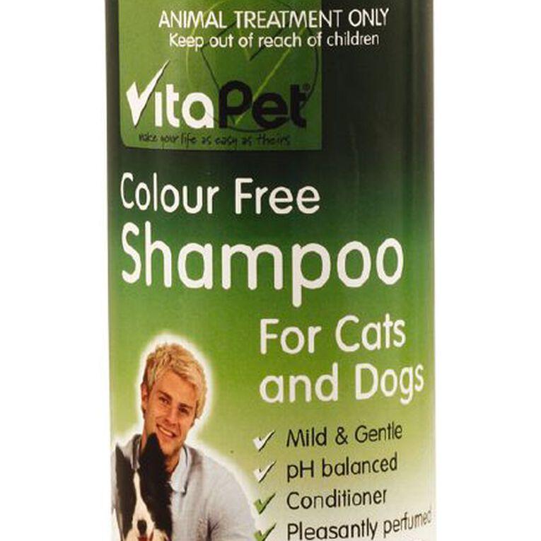 Vitapet Shampoo Colourfree 250ml, , hi-res