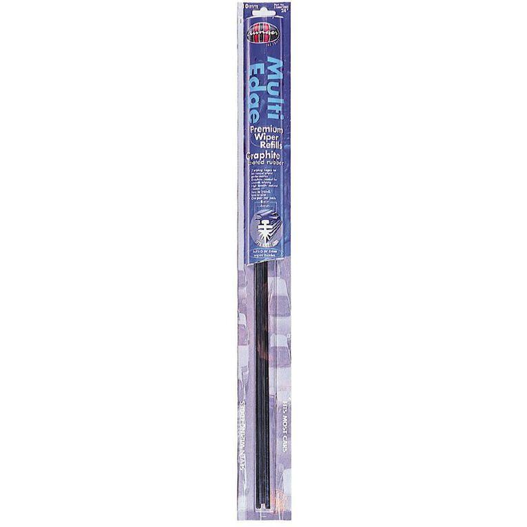 Aunger Multi Edge Premium Wiper Refill 24 inch, , hi-res
