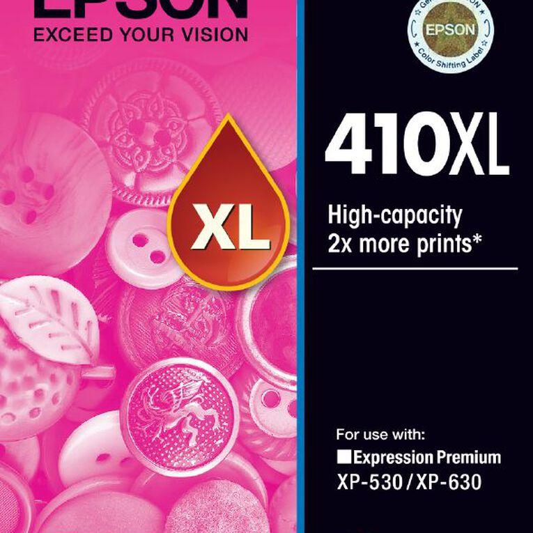 Epson Ink 410XL Magenta (650 Pages), , hi-res