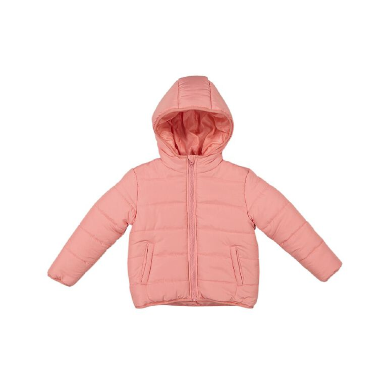 Young Original Candy Puffer Jacket, Pink Mid, hi-res