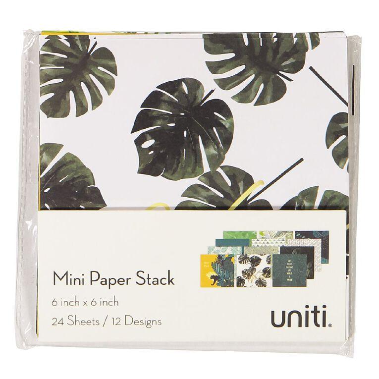 Uniti Designer Paper 6x6 24 Sheets Wild, , hi-res