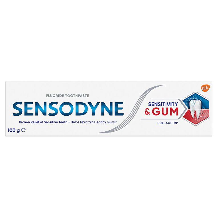 Sensodyne Sensitivity and Gum Toothpaste 100g, , hi-res
