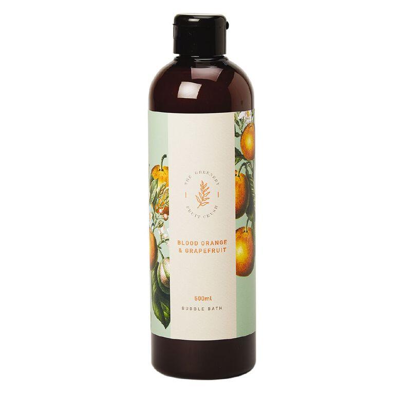 Winter Fruit Blood Orange And Grape Fruit Bubble Bath 500ml, , hi-res