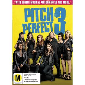 Pitch Perfect 3 DVD 1Disc