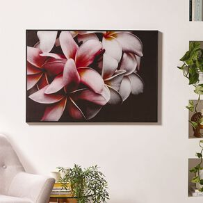 Living & Co The Bloom Framed Canvas 70 x 100 x 3.5cm