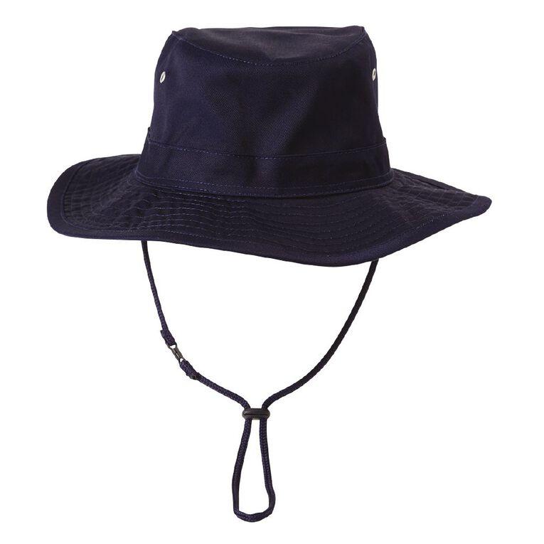 Young Original Kids' Unisex Cricket Hat, Navy, hi-res