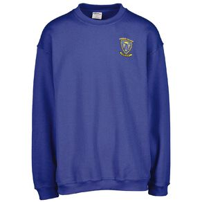 Schooltex Porirua College Sweatshirt with Embroidery